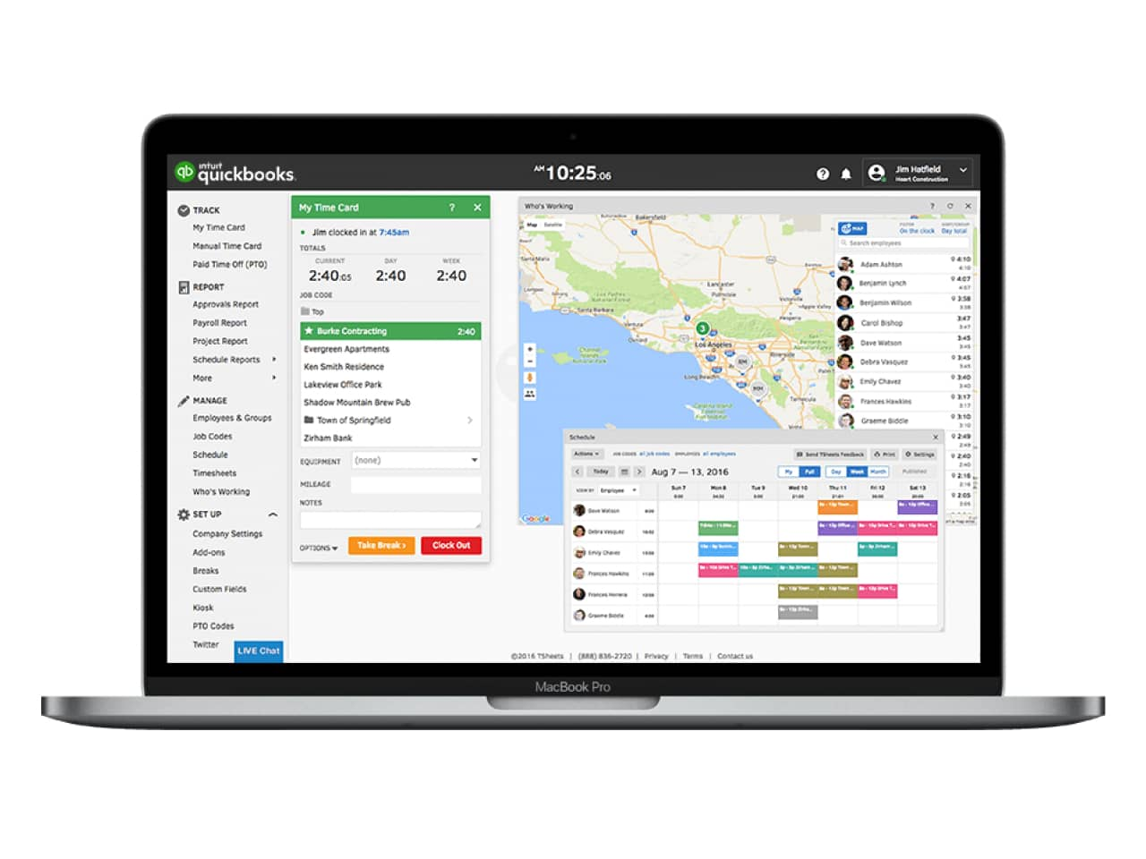 How to track job costing with QuickBooks Time