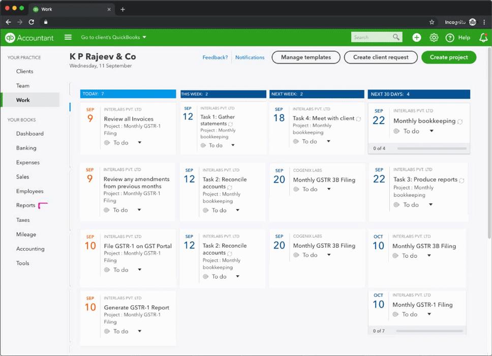 Task progress monitoring in real-time