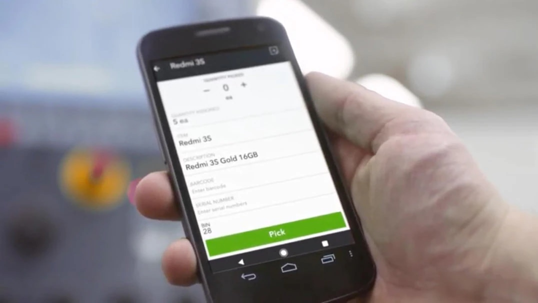 Increase efficiency with mobile barcode scanners