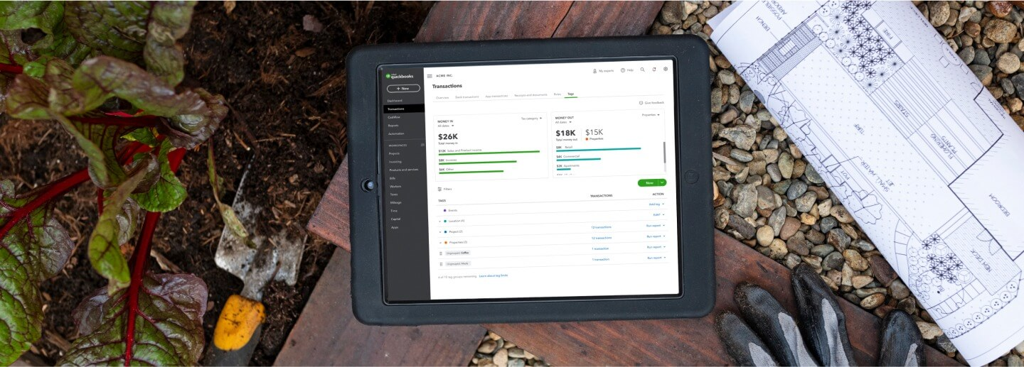 tablet transactions tags