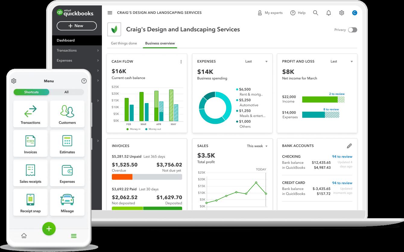 desktop mobile dashboard product