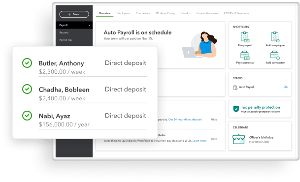Easy, accurate payroll—every time