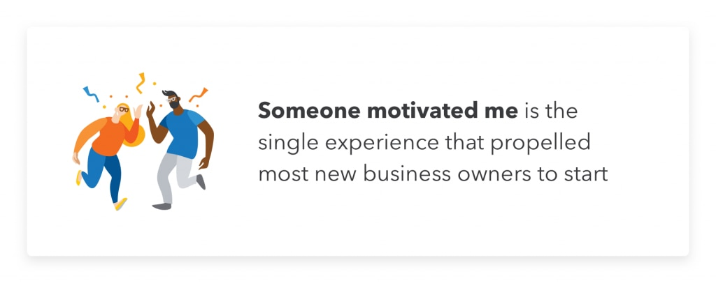 A motivational quote to help small business owners.