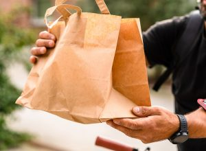 Restaurant delivery services to maintain cash flow.
