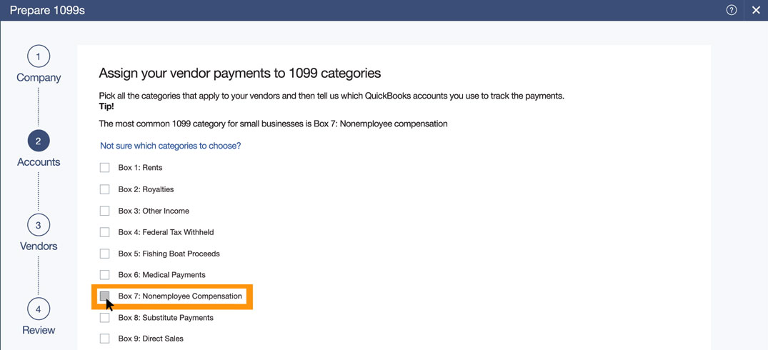 Tracking 1099 Contractor Expenses In Quickbooks