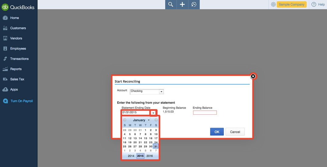 how to add account balance to quickbooks