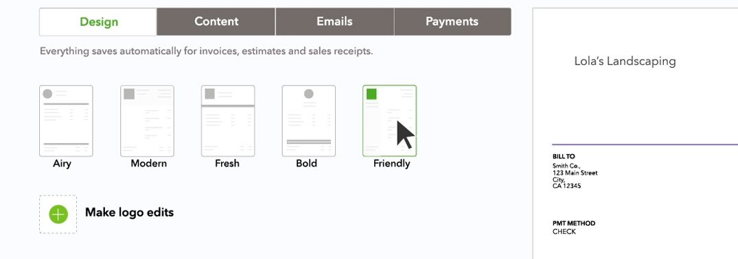Create An Invoice In QuickBooks - What does a quickbooks invoice look like