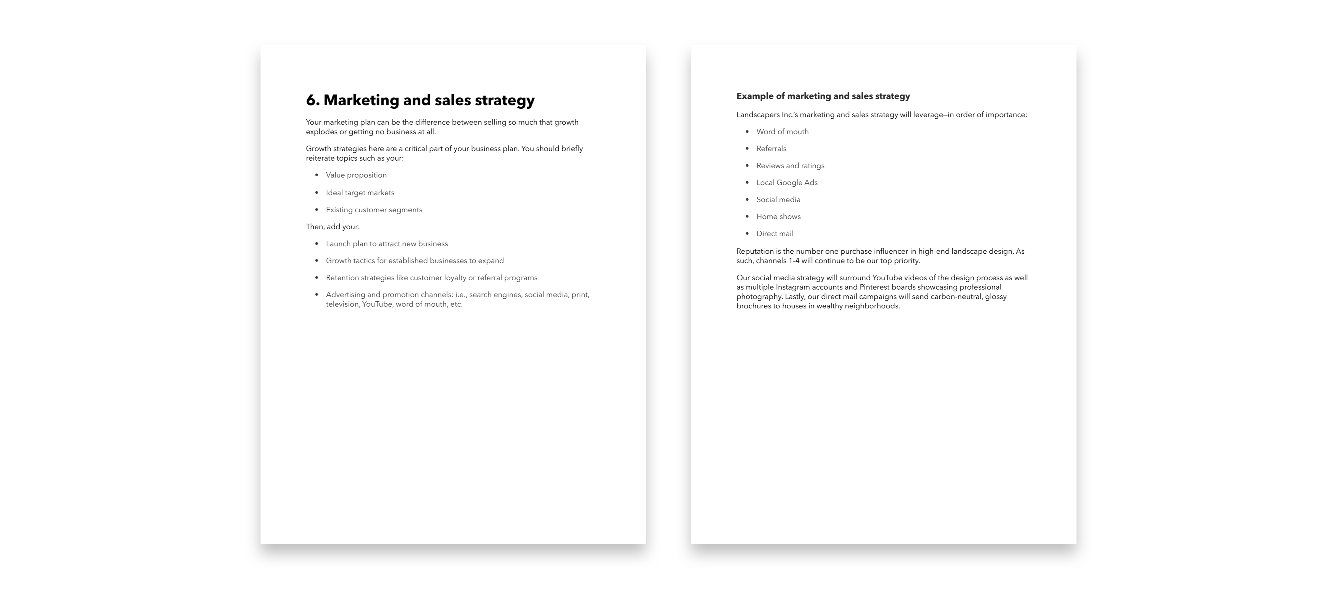 How To Write A Business Plan Template 10 Steps 5 Tips And Examples