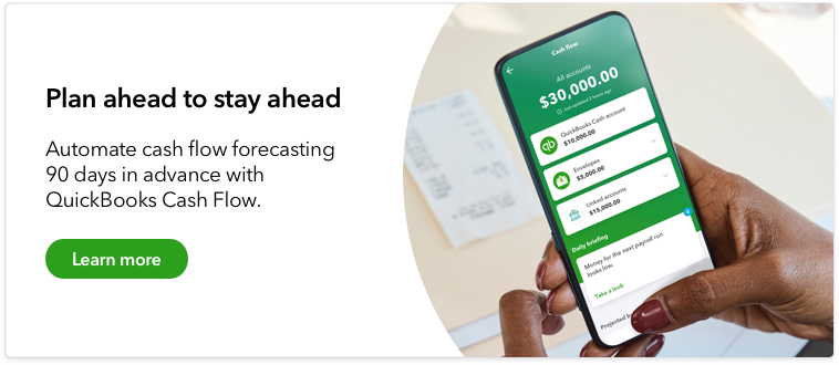 Get paid on time with QuickBooks payments.