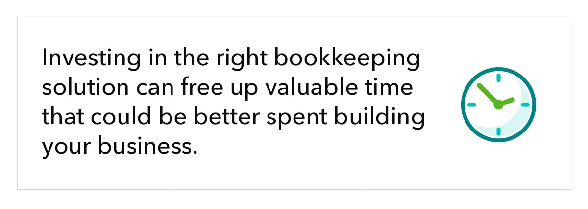 Investing in the right bookkeeping service can free up valuable time that could be better spent building your business.
