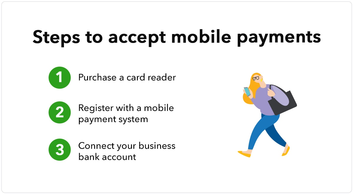 Steps to accept mobile payments