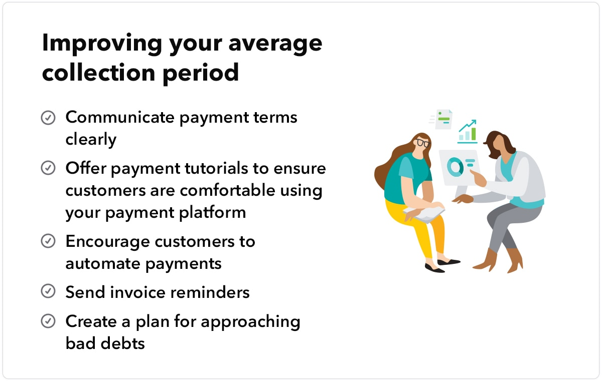 Tips for improving average collection period
