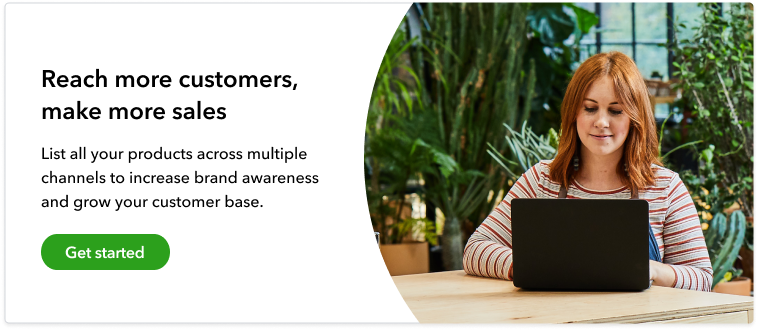 Reach more customers with QuickBooks
