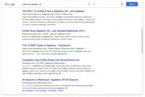 Correct SEO for small business marketing purposes.